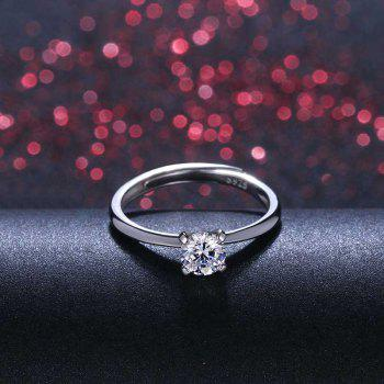 1 Pairs of Lovers' Silver Ring Adjustable0131 - SILVER ONE-SIZE
