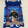 Pure Cotton Cartoon Printed Swimming Bath Skirt - CERULEAN