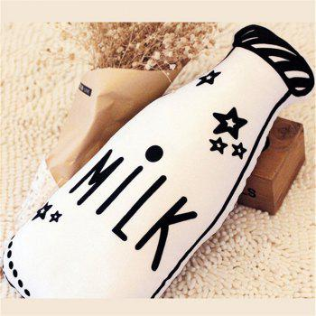 Children's Room Decoration Milk Bottle Pillow Double-Sided Printing - WHITE 50 X 28