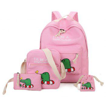 Fashion Trend Wind Backpack Campus  South Korea