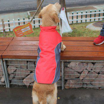 Lovoyager BL -674 New Style Dog Warm Clothing for Winter Outdoor - RED 4XL