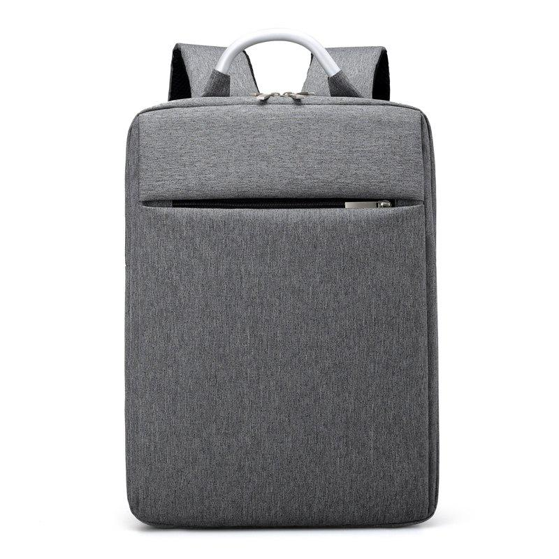 Men's Multi-compartment Computer Protection Bag  High-capacity Multi-functional Backpack - GRAY