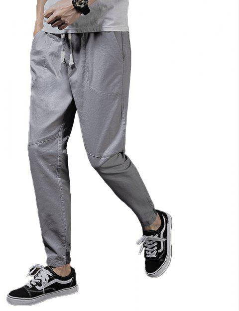Men's Fashion et Trend Pants - Gris 36