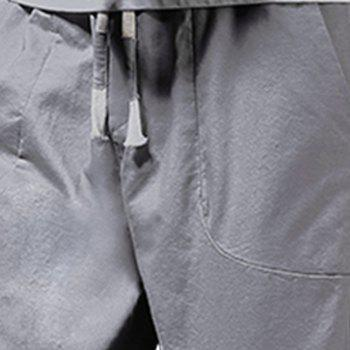 Men's Fashion and Trend Pants - GRAY 34