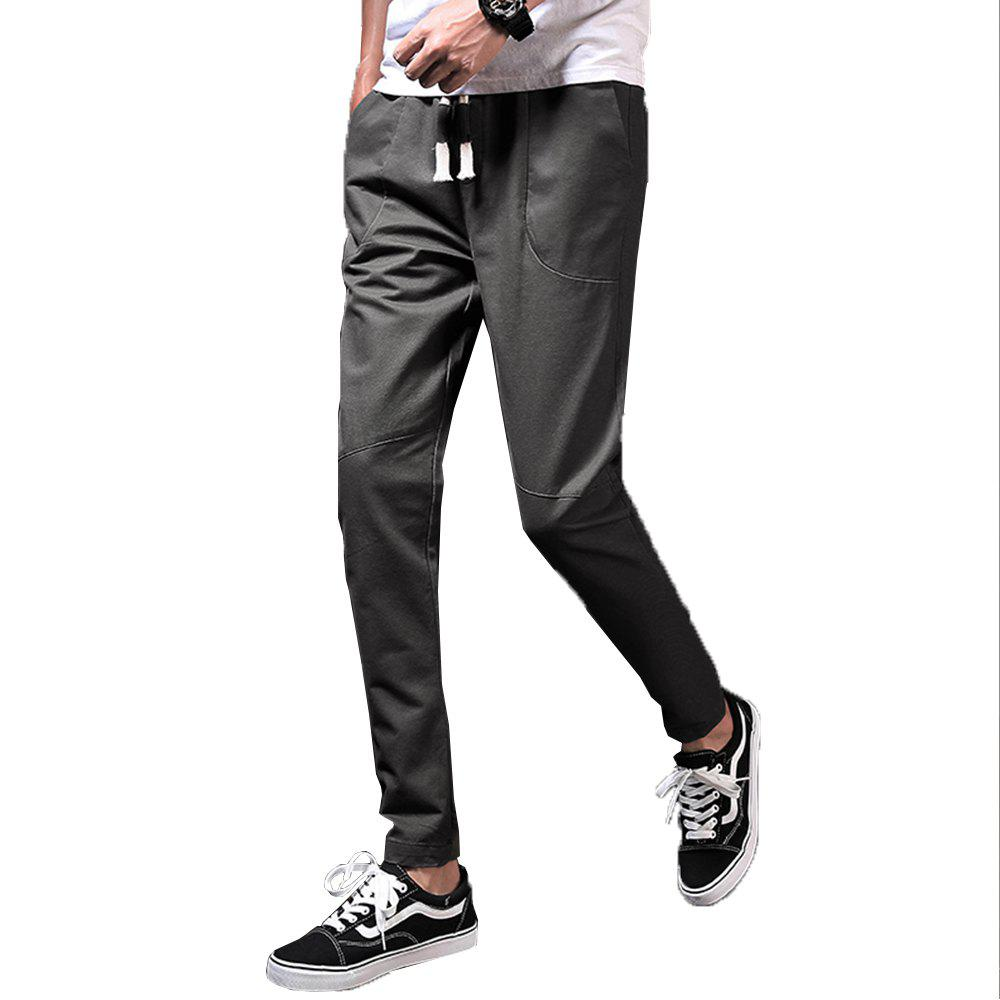 Men's Fashion and Trend Pants - DARK GRAY 38