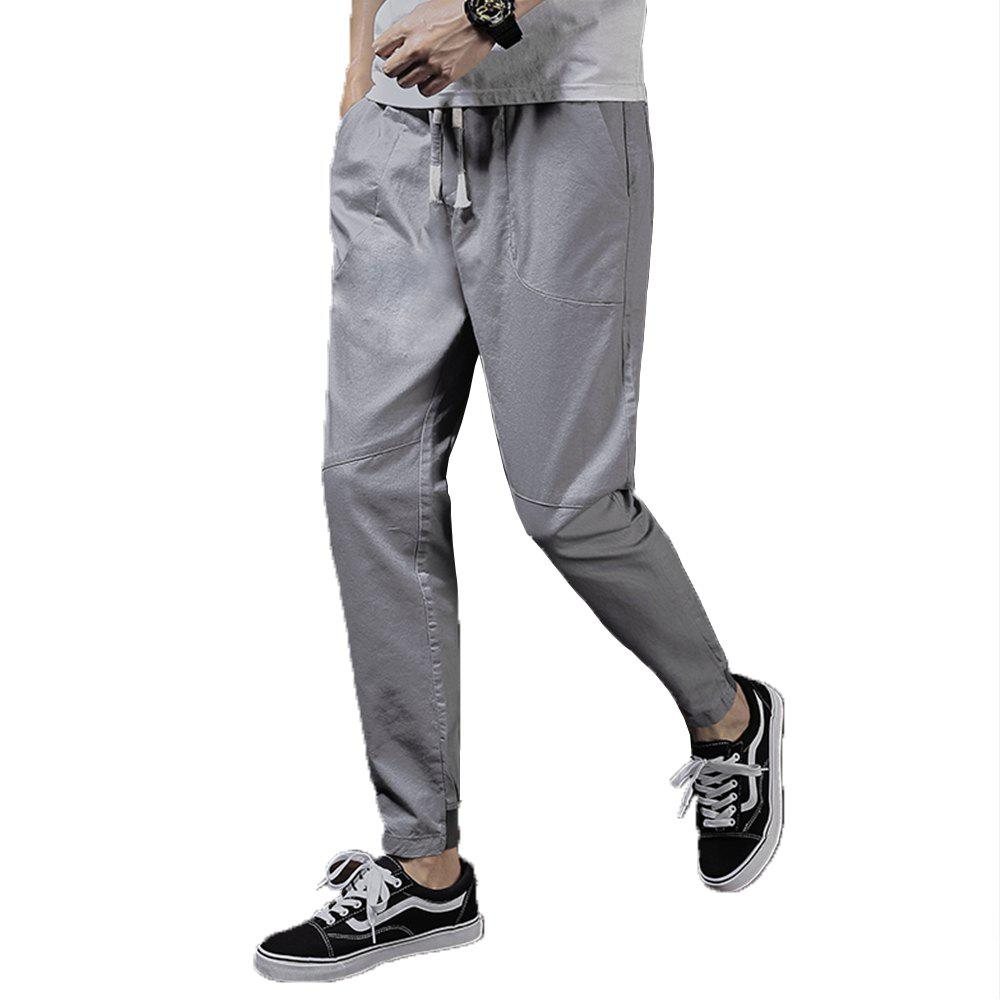 Men's Fashion and Trend Pants - GRAY 38