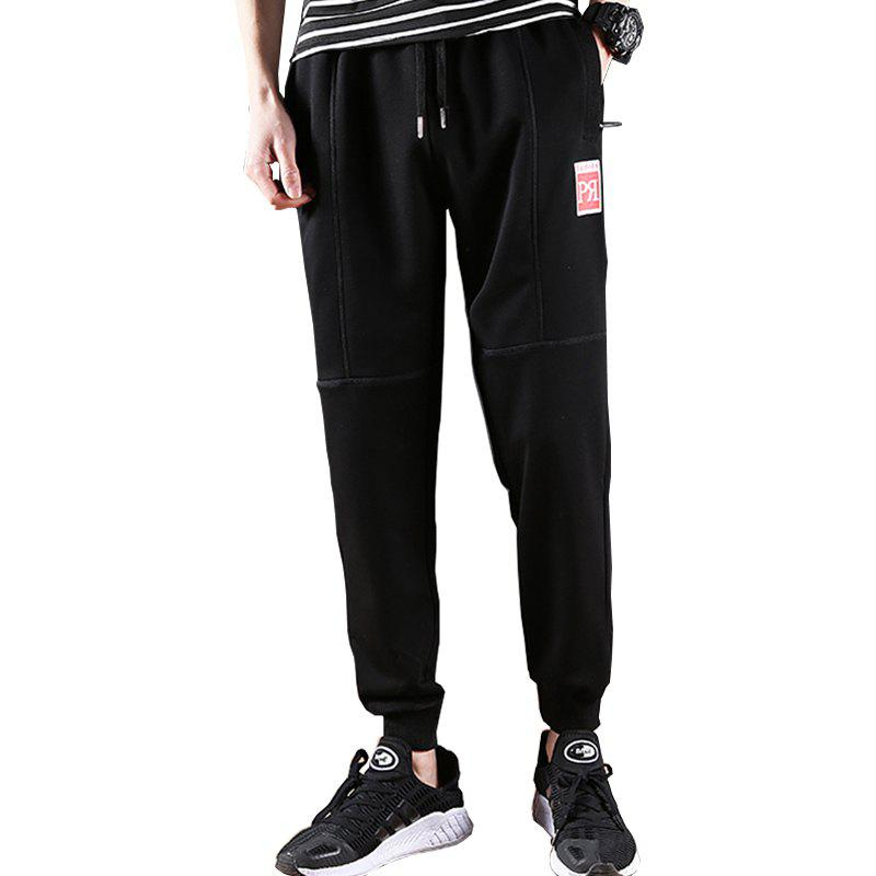2018 Men's Fashion Sweat Pants - BLACK 39