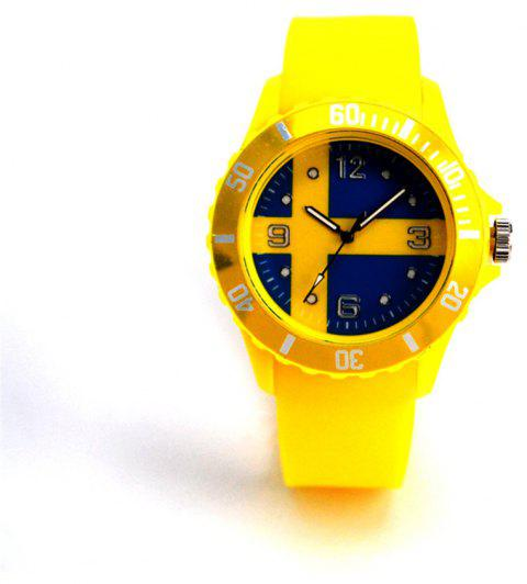 The New World Cup Commemorative Gift of Swedish Flag Watch - DAISY