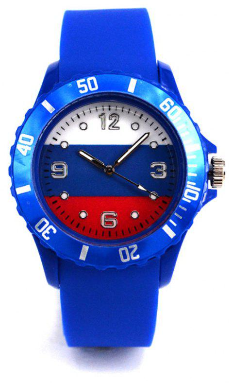 New World Cup Commemorative Gift Russian Flag Watch - CERULEAN