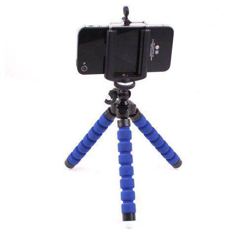 Octopus Three Mini Mobile Phone Digital Camera Tripod - BLUE SINGLE CODE