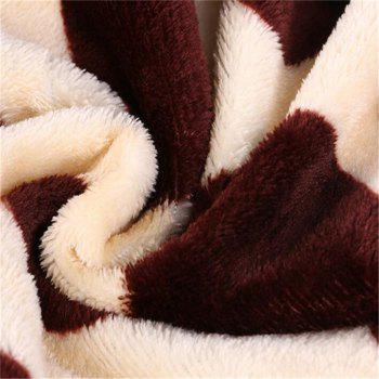 Thick and Warm Soft and Wide Used Flannel Blanket - COLORMIX