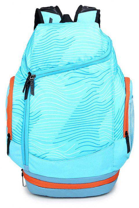 Men's High-capacity Sports Travel Backpack - BLUE