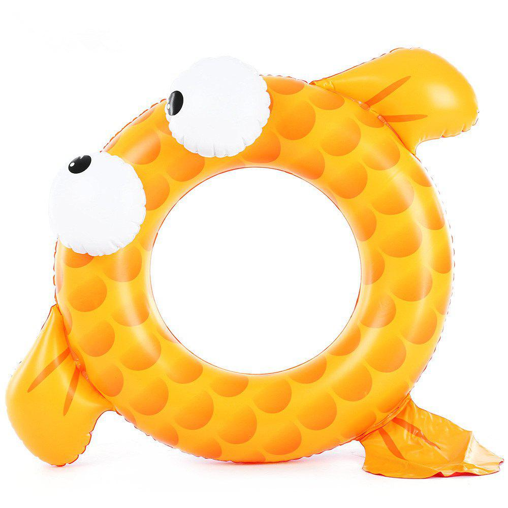 Goldfish Children Swim Ring - YELLOW