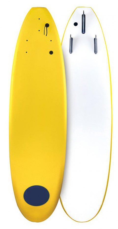 Adult Fitness Stimulate Wave Board - YELLOW