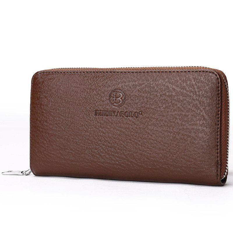 New Male Cross-section Clutch - BROWN