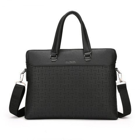 Men's New Messenger Casual Bag - BLACK