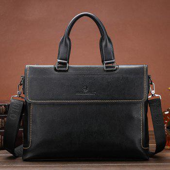 New Men's Casual Cross-section Diagonal Package - BLACK
