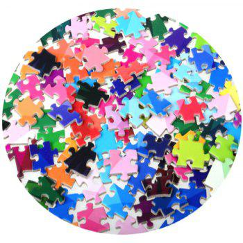 135CM Diameter New Paper Jigsaw Puzzle Rainbow Toy for Adults Releasing Stress 1000PCS - COLORMIX