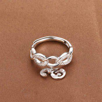 925 Silver Ring Adjustable1013 Jewelry Gift - SILVER ONE-SIZE