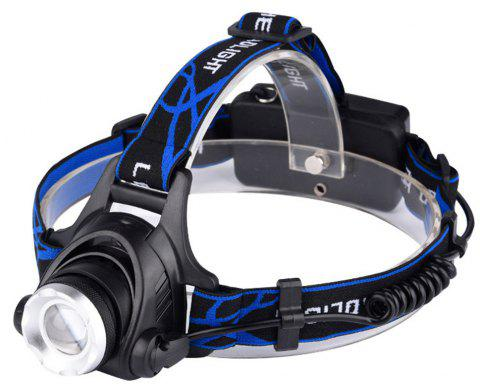 Outdoor Head Lamp High-Power Charging Long Shots Miners And LED Light Mini - SKY BLUE