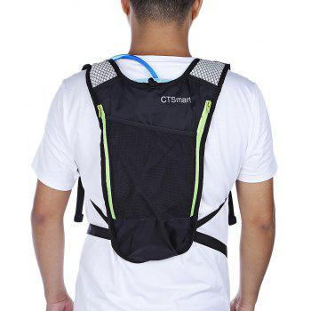 CTSmart 5L Outdoor Hydration Backpack with Water Bladder - GREEN