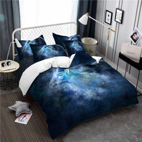Moonlight Star Capricorn Series Three or Four Pieces Bedding Set AS20 - BLUE QUEEN