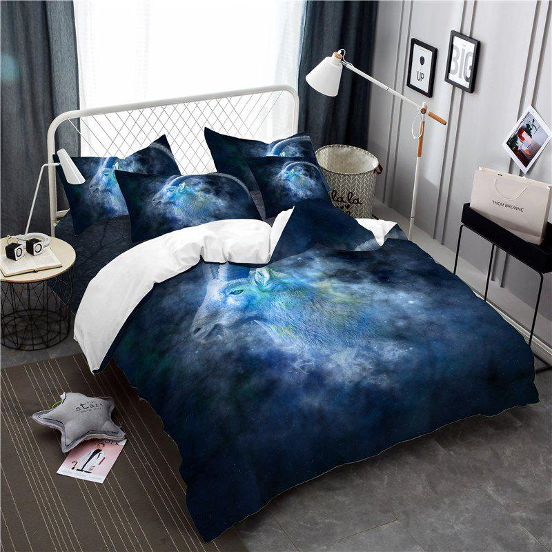 Moonlight Star Capricorn Series Three or Four Pieces Bedding Set AS20 - BLUE TWIN