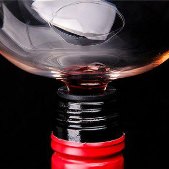 Creative New Red Wine Glass Cup Inspired Glassware Copo Whisky - TRANSPARENT