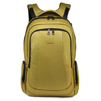 TIGERNU T - B3143 - 02 14 Inch Stylish Business Laptop Backpack - YELLOW