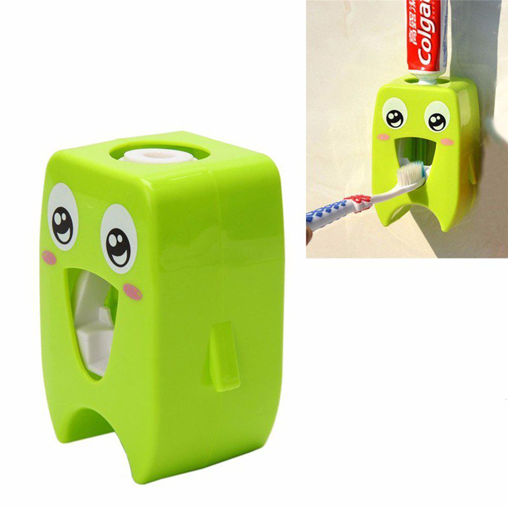 Cartoon Automatic Toothpaste Dispenser - GREEN