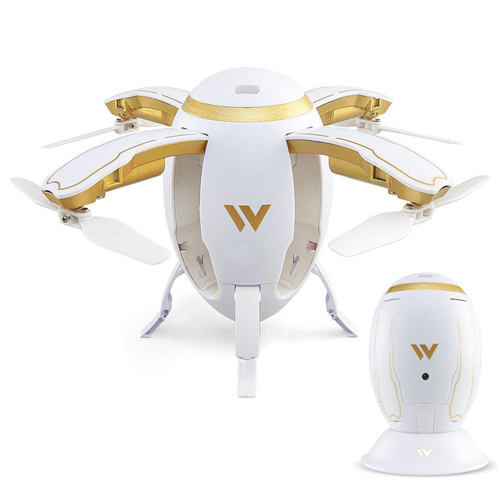 Attop W5 Foldable Design RC Drone with Headless Mode - WHITE