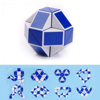 Mini Puzzle Folding Toy Rubik Cube - BLUE