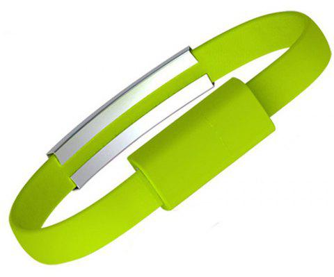 The New Fashion Movement Hand Ring Type - C Cable - GREEN