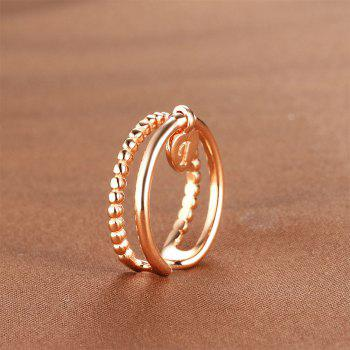 925 Silver Ring Adjustable0359 Jewelry Gift - SILVER ONE-SIZE