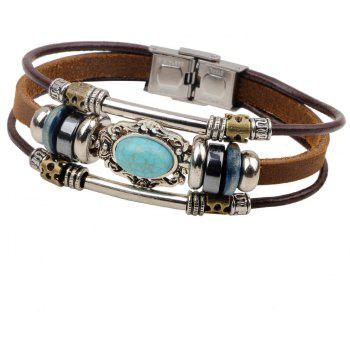 Wave Beads Bracelets Bangles for Women and