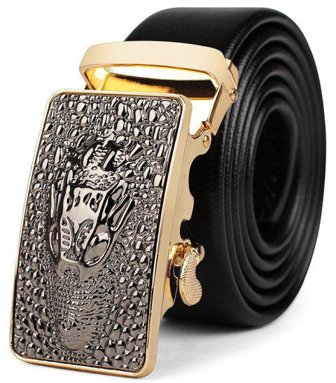 Men's Casual and Simple Automatic Belt - GOLDEN