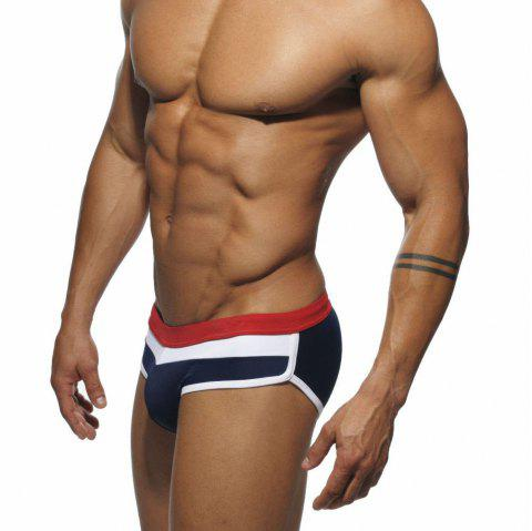 Men Thicker Triangle Slip de bain - Azuré 2XL