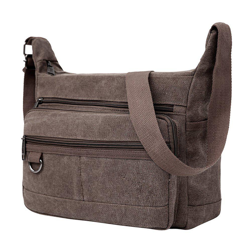 New Simple Atmosphere Men's Knapsack  2018 - BROWN