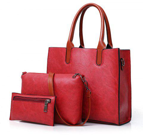New Style Lady's Backpack Spring and Summer - RED