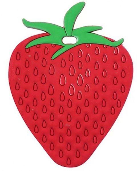 Travel Accessories Cute Fruit Sign Suitcase Luggage Tag - DEEP RED