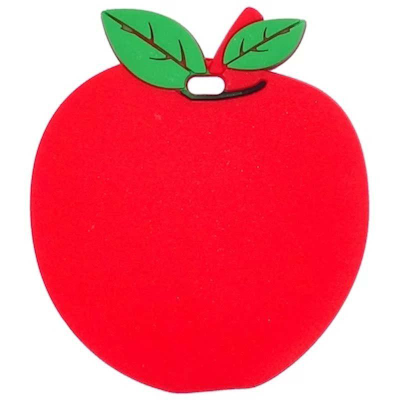 Travel Accessorie Cute Fruit Sign Suitcase Luggage Tag - RED