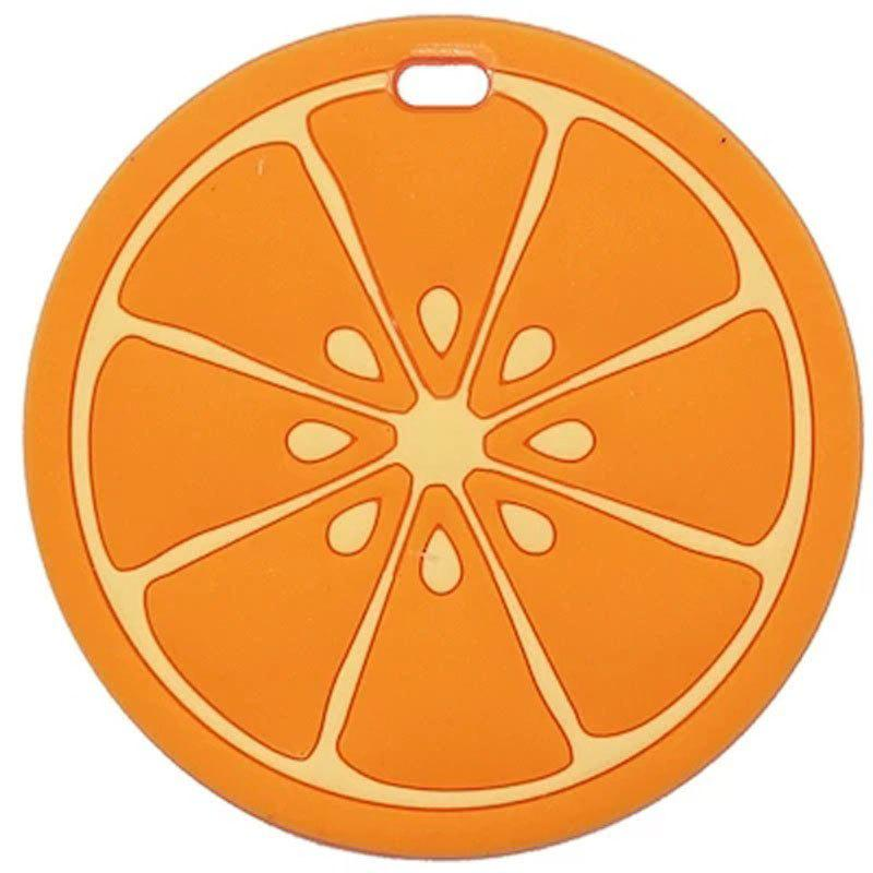 Travel Accessories Cute Fruit Sign Suitcase Luggage Tag - ORANGE