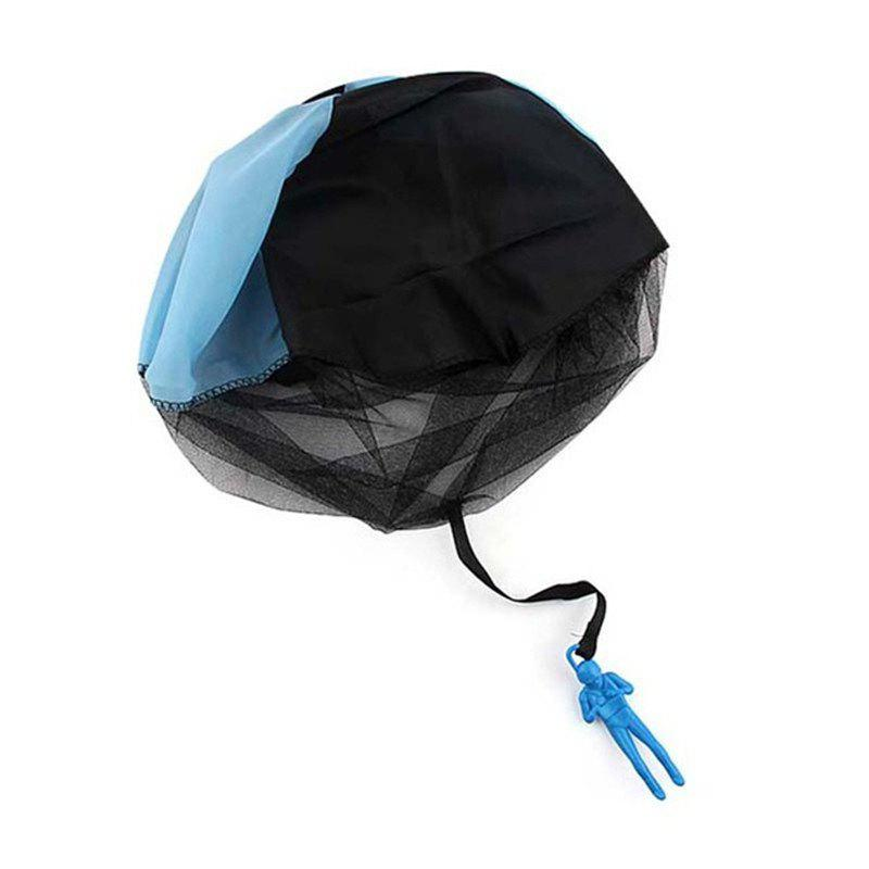 Kids Mini Parachute Outdoor Sports Children' Educational Toy Hand Throwing - BLUE