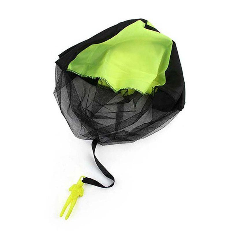 Kids Mini Parachute Outdoor Sports Children' Educational Toy Hand Throwing - GREEN
