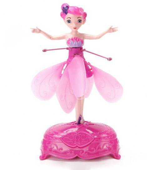 Wireless Inductive Flying Fairy Toy - PINK