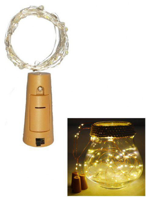 1PC Wine Bottle Lights LED String Light 2m for Wedding - WARM WHITE