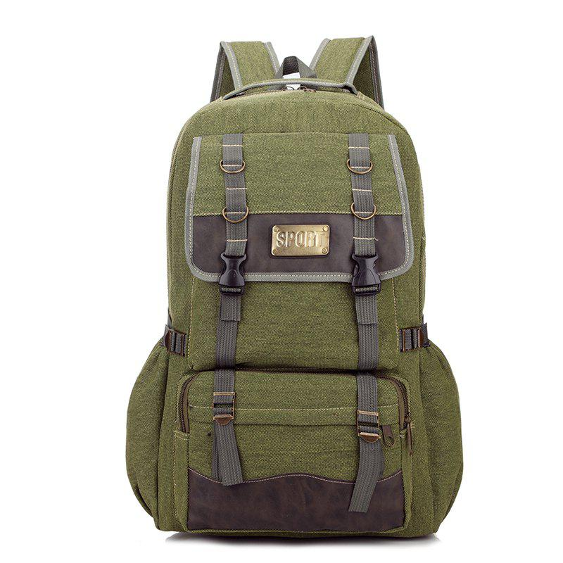 Men's Large-capacity Outdoor Mountaineering Bag Multi-functional Casual Bags - ARMYGREEN