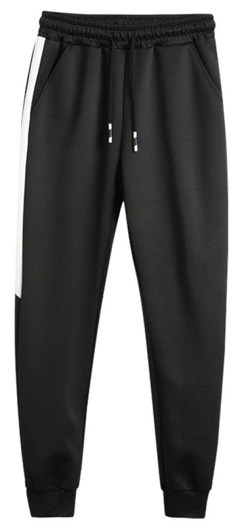 2018 Men's Fashion Trend Pants - BLACK 42