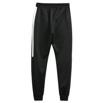 2018 Men's Fashion Trend Pants - BLACK 36