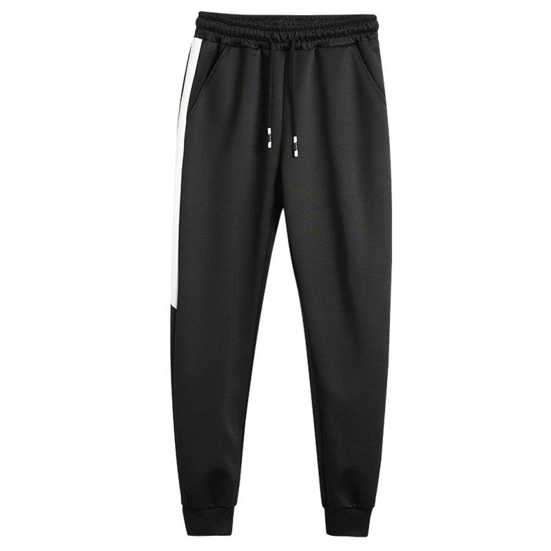 2018 Men's Fashion Trend Pants - BLACK 39